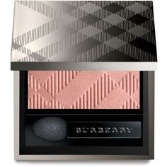 Burberry Eye Color, Wet & Dry Silk Shadow ($29) ❤ liked on Polyvore featuring beauty products, makeup, eye makeup, eyeshadow, tea rose, burberry eyeshadow and burberry