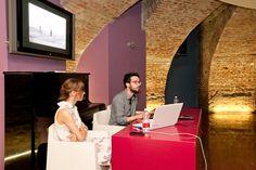 """La conferenza """"Lo spazio nel tempo e nel cinema"""" del 3 luglio. Foto di Jana Sebestova #AIC2015 #sconfinamenti"""