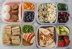 Back to School Lunch Box Ideas - Vicky Barone #lunch #ideas #tasty #easytoprepare #howto