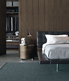 ♂ masculine yet elegant interior design bedroom