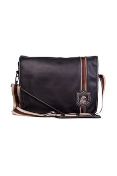 Men's leather bag for laptop with clasp Nordweg... Bolso de hombre para portátil en piel con solapa Nordweg...