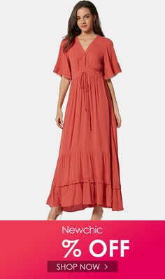 Bohemian Solid Color Laced Patchwork Maxi Dress For Women is fashionable and cheap, come to NewChic to see more trendy Bohemian Solid Color Laced Patchwork Maxi Dress For Women online. Half Sleeve Dresses, Dresses With Sleeves, Site Mode, Coupon, Dress Outfits, Women's Dresses, Online Clothing Stores, Wholesale Fashion, Boho Dress