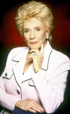 Jeanne Cooper -The Young and the Restless star passed away at age 84.  May 2013