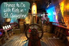 Things to Do with Kids in St. Augustine Florida - Yeah! Let's Go