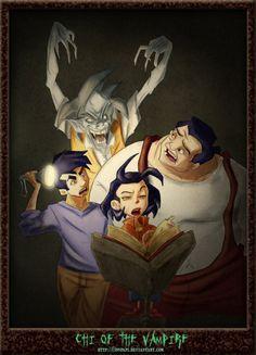 """blueinkedfrost: «Джеки Чан Ч Вампира на ~ DonPapi Reblogging этого фантастическое Джеки Чан приключение искусство для""""Ч вампира"""".  Забудьте sparklepires - Джеки Чан и компания может ловко победить версию й.  Нелишне к этому, есть ..."""