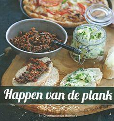 kookboek, recept, hapjes, plank, bowls and dishes, 9789490561079, happen, themaplanken