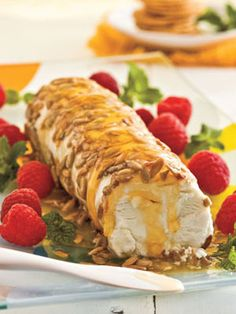 Sweet-'n'-Salty Honey Cheese Spread