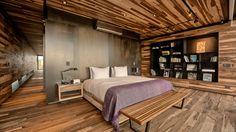 Mirá imágenes de diseños de Dormitorios estilo moderno}: Casa Evans. Encontrá las mejores fotos para inspirarte y creá tu hogar perfecto.