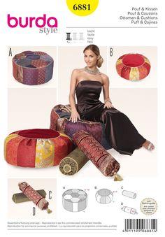 BD6881 Ottoman Cushion