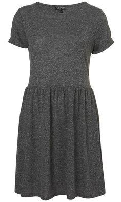 Topshop Speckle Roll Sleeve Mini Dress, £26