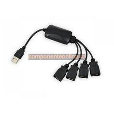 HUB USB, 4 porturi, cu cablu - 401121