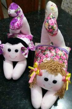Boneca deitada Child Doll, Baby Dolls, Lol Dolls, Doll Hair, Fabric Dolls, Softies, Doll Patterns, Pin Cushions, Kids And Parenting