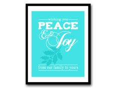 Instant Download  Wishing you Peace and Joy by FoxyCoutureDesigns, $6.00