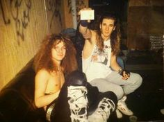 Dime and phil......early days