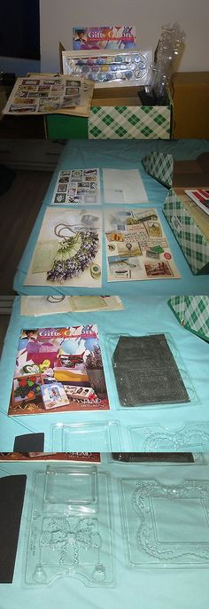 Instruction 16496: Carol Smith Gifts Galore Craft Kit By Plaid, New In Original Box -> BUY IT NOW ONLY: $65 on eBay!