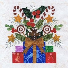 click here to view larger image of Baltimore Christmas - Block 6 (PATTERNS)