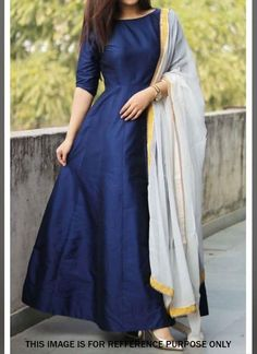 Anarkali Dress With Dupatta Wedding Wear Indian Long Lenght Frock Blue Anarkali Party Wear Custom designs Dark green Georgette lehenga choli dupatta bridal wedding wear designer lengha choli/blouse latest embroidered sequins outfit for women's Indian Fashion Dresses, Indian Gowns Dresses, Dress Indian Style, Indian Designer Outfits, Indian Outfits, Designer Dresses, Fashion Outfits, Fashion Weeks, Dress Fashion