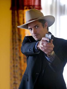 Timothy Olyphant as Deputy U.S. Marshall Raylan Givens (Justified)