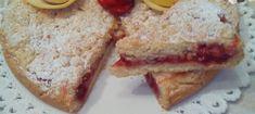 Una golosa sbriciolata con marmellata di fragole e crema al limone, tutto interamente preparato con il Bimby sul momento! Ingredienti per marmellata: ...