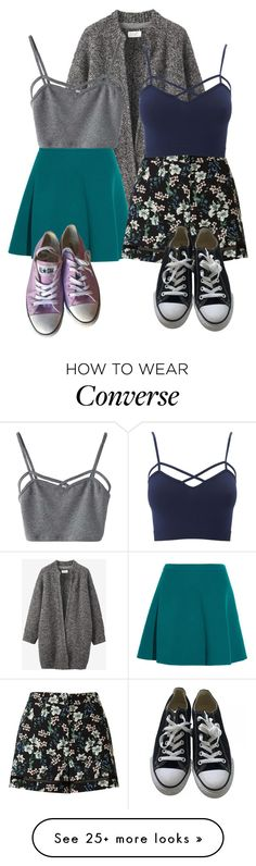 """""""#111"""" by alinadoroshenko on Polyvore featuring Toast, Miu Miu, WithChic, Miss Selfridge, Converse, Charlotte Russe and plus size clothing"""