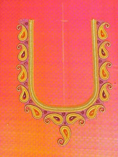 Chudidhar Neck Designs, Neckline Designs, Hand Designs, Simple Blouse Designs, Stylish Blouse Design, Bridal Blouse Designs, Embroidery Neck Designs, Embroidery Suits Design, Applique Designs