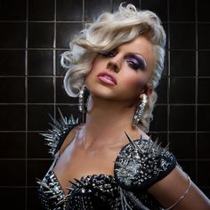 Courtney Act, Drag Star, Talks About Her Art - Woman Around Town Drag Queens, Courtney Act, Rupaul Drag, After Life, Debut Album, Androgynous, Tgirls, Crossdressers, Acting