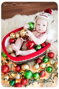 Emma is 5 Months: Southern California Baby Photographer First Christmas Photos, Xmas Photos, Christmas Portraits, Babies First Christmas, Christmas Baby, Christmas Pictures, Newborn Baby Photos, Baby Poses, California Baby