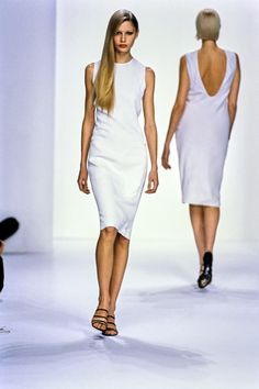 Calvin Klein Collection Spring 1995 Ready-to-Wear Fashion Show - Kirsty Hume