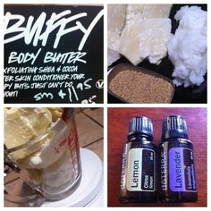 Lush Buffy Bars DIY.  making these right now... but with coffee gorunds..