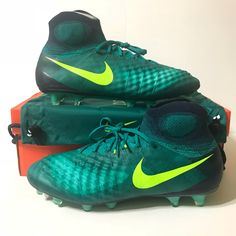 reputable site 71982 17389 Nike Shoes   Nike Magista Obra Ii Fg Soccer Cleats   Color  Green Yellow