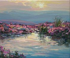 Mark PRESTON - Evening Reflections, Stanage Edge