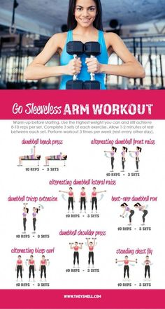 Me Time at the Gym – Get Your Arms in Shape for Spring Fashion with this free printable Go Sleeveless workout routine. Me Time at the Gym – Get Your Arms in Shape for Spring Fashion with this free printable Go Sleeveless workout routine. Fitness Routines, Fitness Workouts, Fitness Motivation, Workout Routines For Women, Fun Workouts, At Home Workouts, Upper Body Workout For Women, Gym Routine Women, Best Arm Workouts