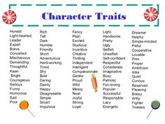 character trait list with mischievous - Google Search