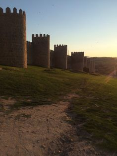 @juliedoyle2 - The old walled city of Avila Spain #ForAnyone
