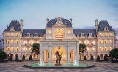 French-style Château, GUANZHOU, CHINA   #Ornaments #China #Architecture #VMZINC #