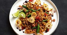 Fast and tasty, this low carb noodle meal has just enough spice to keep things interesting. It's also low fat - so tuck in!