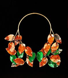 Necklace. Elsa Schiaparelli (Italian, 1890–1973). Date: fall 1938. Culture: French. Medium: metal. Dimensions: 11 x 9 1/2 in. (27.9 x 24.1 cm).