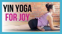 Yin Yoga & Affirmations for JOY & OPTIMISM - 45 min Full Body Yin - YouTube Yin Yoga Sequence, Yin Yoga Poses, Yoga Sequences, Yoga Flow, Yoga Meditation, Yin Yoga Benefits, Affirmations, Full Body Stretch, Yoga Youtube