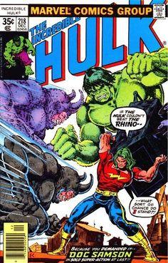 Incredible Hulk # 218 by Ernie Chan