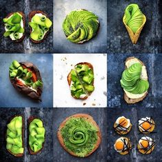 Cottage cheese subs in for mozzarella in this healthy, simple avocado toast perfect for a favorite breakfast, lunch and snack. Avocado Dessert, Avocado Recipes, Healthy Recipes, Simple Avocado Toast, Avacado Toast, Avocado Art, Avocado Food, Food Artists, Think Food