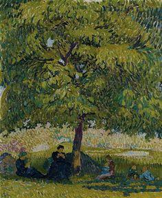 Giovanni Giacometti - Der Nussbaum, 1908