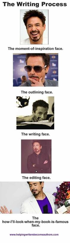 The Many Faces Of A Writer - Writers Write