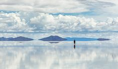 Salar de Uyuni is largest salt flat in the World (UNESCO World Heritage Site) - Altiplano, Bolivia, South America Bolivia Travel, Affordable Vacations, Les Continents, Mysterious Places, Destination Voyage, Explorer, Tourist Spots, South America Travel, Machu Picchu