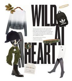 """Horseback riding Outfit"" by lijifhorse on Polyvore featuring Mode, LIU•JO, adidas Originals, Modena, Hue, Kate Spade, Topshop, Frye, women's clothing und women's fashion"