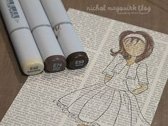julie nutting doll copic - Google Search