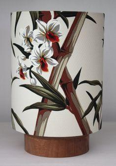 hawaiian bamboo table lamp.