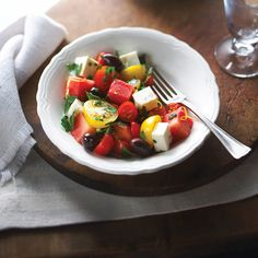 Cherry Tomato And Honeydew Melon Salad With Maple Syrup.. | I Wasn't Expecting That...