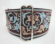 Martingale Collar: Gold and Black Inch), Greyhound Collar, Whippet Collar, Custom Dog Collar, Custom Martingale Domestic Destinations, Custom Dog Collars, Brocade Fabric, Normal Wear And Tear, Whippet, Two By Two, How Are You Feeling, This Or That Questions, Dogs