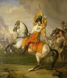 Y el famoso episodio de la batalla en la que el Archiduque Carlos, con riesgo de su vida, cogió la bandera del 15 Regimiento de Infantería para animar a sus hombres que flaqueaban Más en www.elgrancapitan.org/foro