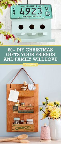 60 Diy Christmas Gifts Your Friends And Family Will Love